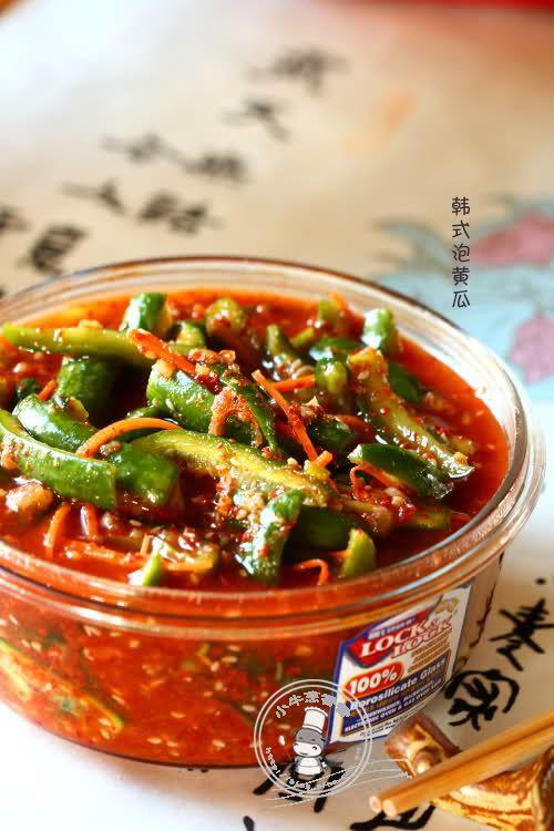 韩式泡黄瓜的做法
