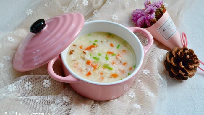 【新品】香菇胡萝卜鳕鱼粥