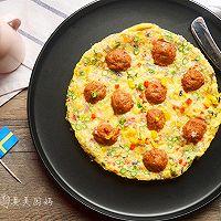 香烤瑞典肉丸鸡蛋派#宜家让家更有味#的做法图解8