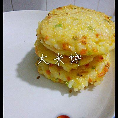 宝宝辅食之大米饼