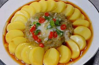肉沫蒸日本豆腐