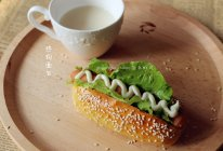 【热狗面包】#九阳烘焙剧场#烤箱试用的做法