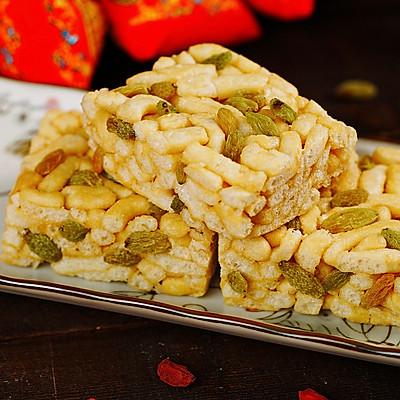 自制传统糕点沙琪玛,松软酥脆,年味十足