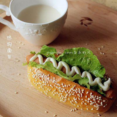 【热狗面包】烤箱试用