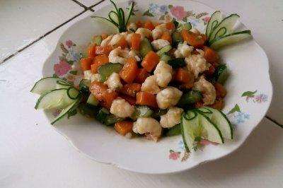 清炒虾仁(一虾两吃)