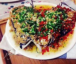 清蒸双色剁椒鱼头#方太一代蒸传#的做法