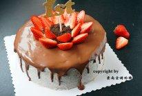 奥利奥咸奶油巧克力淋面蛋糕#我的烘焙不将就#的做法