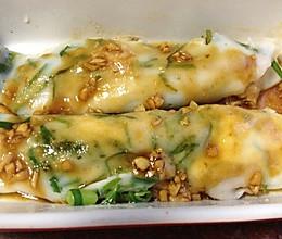 来自潮汕人的经典早餐---空心菜肠粉的做法