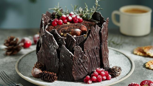 日食记 | 圣诞树桩蛋糕的做法