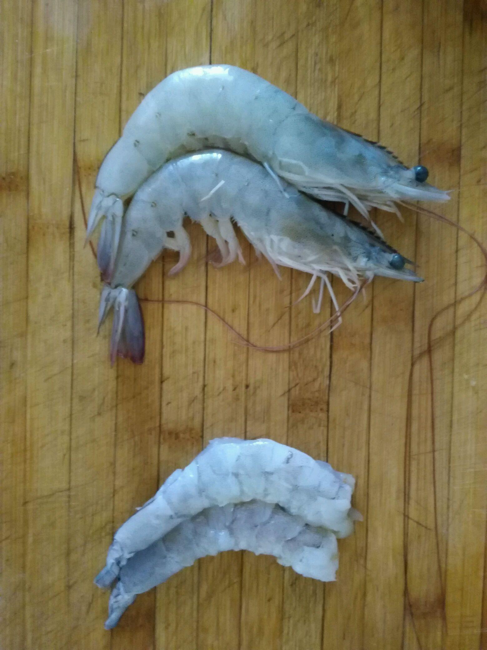 千丝万缕虾的做法图解1