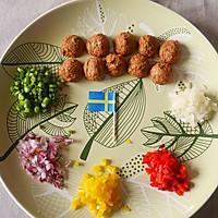 香烤瑞典肉丸鸡蛋派#宜家让家更有味#的做法图解4