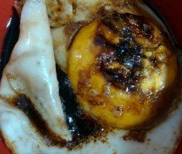 芝麻油煎蛋的做法