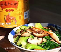 香菇青菜#金龙鱼外婆乡小榨菜籽油#的做法