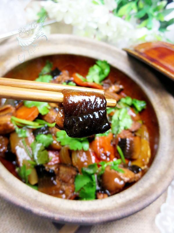 黄鳝啫啫煲的做法