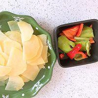 尖椒炒土豆片的做法图解2