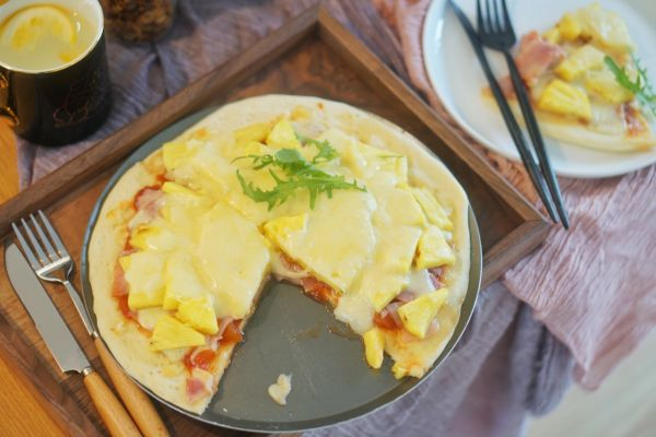 夏威夷披萨|和菠萝咕咾肉相提并论的黑暗料理#硬核菜谱制作人#的做法