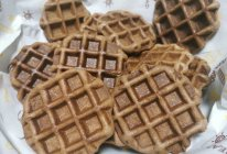 全麦巧克力华夫饼的做法
