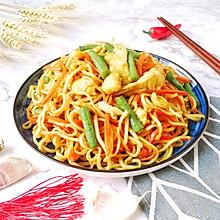 #快手又营养,我家的冬日必备菜品#家常素焖面
