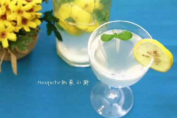 柠檬薄荷冰饮【Mosquito私家小厨】的做法