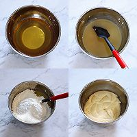 斑斓椰蓉和抹茶红豆馅月饼的做法图解1