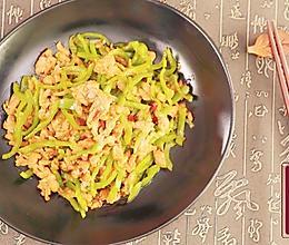 小羽私厨之青椒肉丝的做法