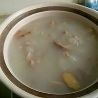 山药猪肚汤的做法图解3