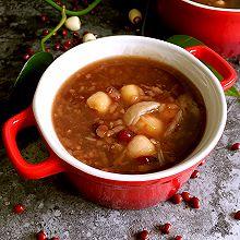 红豆莲子百合粥