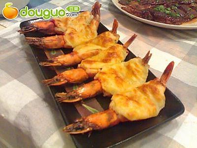 黑胡椒奶酪焗虾