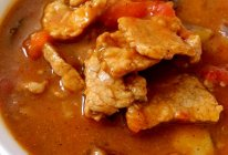 #百搭的一道菜#西红柿瘦肉焖茄子的做法