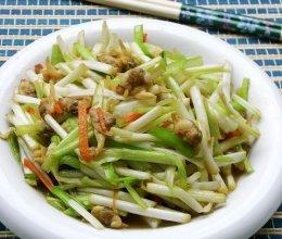 韭黄炒白蛤的做法