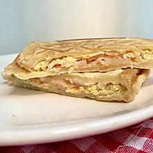 芝士鸡蛋蟹柳三明治早餐机吐司机五分钟早餐2