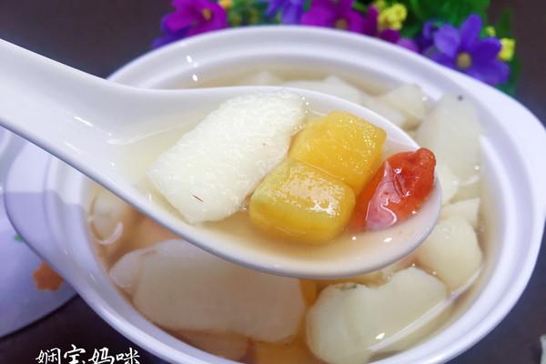 百合淮山番薯糖水