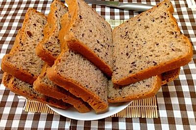 养生紫米红糖面包~柔软法式面包机版