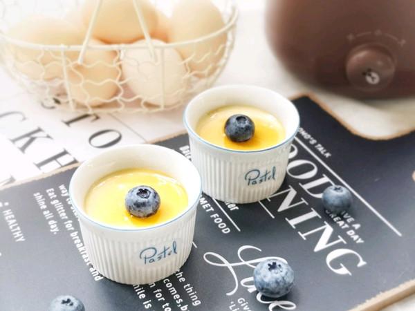 香浓丝滑——牛奶炖蛋的做法