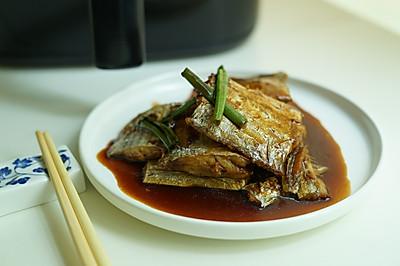 浇汁香酥带鱼