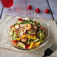 #花10分钟,做一道菜!#低卡沙拉汁拌时蔬的做法图解12