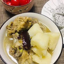 砂锅炖山药排骨
