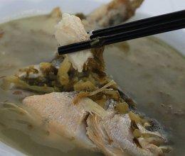 舟山大黄鱼雪菜汤的做法