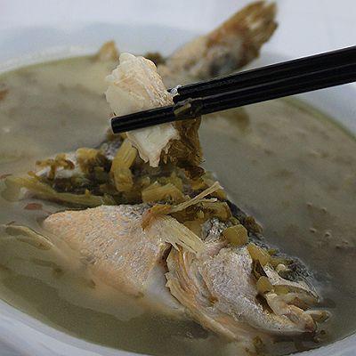 舟山大黄鱼雪菜汤