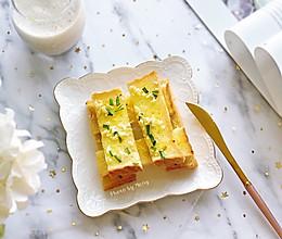 【消耗吐司】蜂蜜蒜香吐司片#冰箱剩余食材大改造#的做法