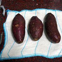 烤紫薯的做法图解1