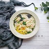 """早餐鲜肉小馄饨#在""""家""""打造ins风美食#"""
