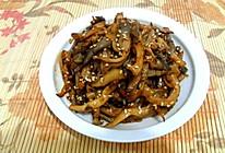 蘑菇的另类吃法——素版京酱肉丝的做法