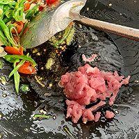 青椒肉丝炒干豆腐的做法图解5