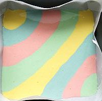 五彩斑斓的彩虹蛋糕卷#长帝烘焙节#的做法图解11
