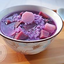 紫薯山药粥#胃,我养你啊#