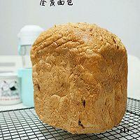 葡萄干酥粒全麦面包——面包机
