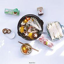 老母鸡红薯胡萝卜浓汤火锅