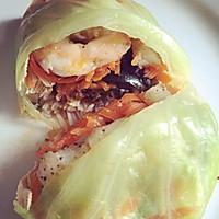春季减肥食谱——龙利鱼柳虾仁什锦蔬菜卷的做法图解9