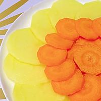 胡萝卜土豆泥,7m+的做法图解2